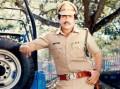 Handsome police officer