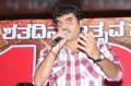 Addressing press during 100 days meet of Sangolli Rayanna film