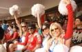 RCB IPL team cheer girls entertaining Appu