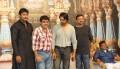 Senior Artist Shashikumar with his juniors
