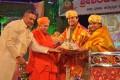 Sridhar and his wife Anuradha honoured