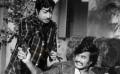 Rajini acting with the great actor Sivaji