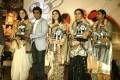 Beauties honored during his 100thfilm Jogayya event