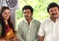 Shivanna with Manju Warrier and Prabhu