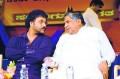 Ravichandran with ex CM Dharam Singh