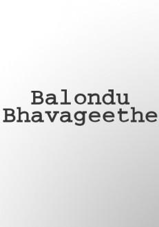 Balondu Bhavageethe Kannada Movie Online